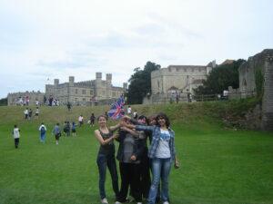 Наша группа в Кембридже