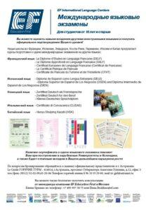 IELTS, TOEFL и другие международные языковые экзамены
