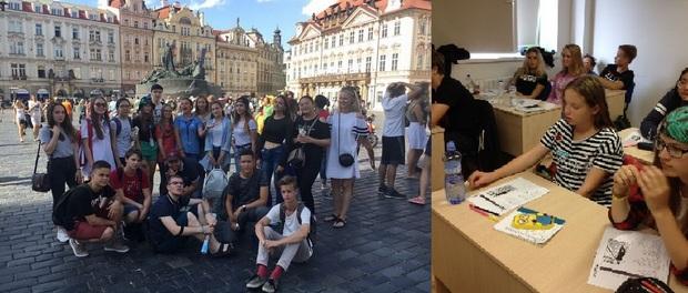 Летняя школа английского или чешского языка в Праге, ГРУППА