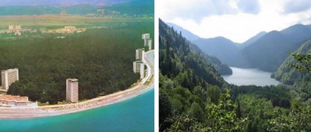 Абхазия, экскурсионные туры