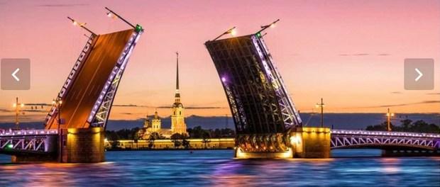 Санкт-Петербург, экскурсионные туры